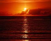 Langkawi island Setting sun Malaysia