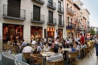 Calle Padre. Huesca, Aragon, Spain.
