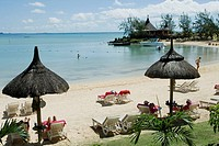 Beach on Tropical Island, Mauritius