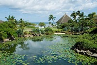 Resort on Mauritius