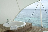 Batrroom on Resort Islands, Maldives