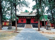 Shaolin Temple in Dengfeng, He´nan