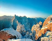 East Peak in Mt Huashan,Shaanxi
