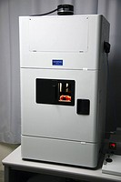 Fluorescence molecular imaging system. This machine, the Olympus OV110, is an imaging system that allows high_sensitivity, high_speed imaging from ind...