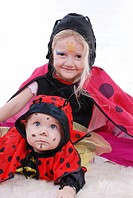 masquerade children in carneval