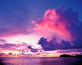 Sunset,Guam,USA