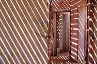Abandoned Building, Ghost Town of Kolmanskop, near Luderitz, Namibia, Africa