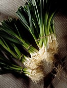 bunches of leeks