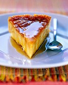 caramel flan