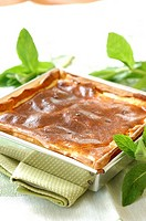 Goat's cheese and mint tart (thumbnail)