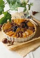dried fruit tart