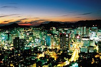 Night view of Soeul,Korea