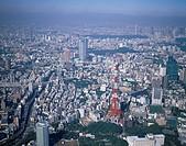 AERIAL Tokyo Tower Tokyo Japan