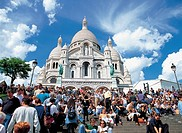 Sacre Coeur,Paris, France