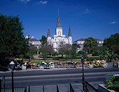 Saint Louis cathedral, Jackson Square, New Orleans, United States of America