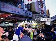 Ameyoko December Ueno Ameya Yokocho Tokyo Japan Store Market People Shopper