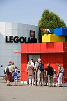 Legoland park. Billund,  Denmark.