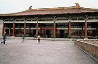 Nanjing museum, Nanjing, Jiangsu, China, museum, architecture, people