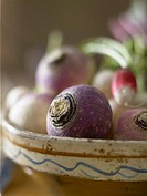 Turnips in a bowl