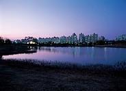 Ilsan lake Park,Gyeonggi,Korea