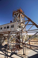 Historic Junction Mine, Broken Hill, Outback, New South Wales, Australia