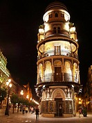 Filella pastry shop. Sevilla, Andalucia, Spain.