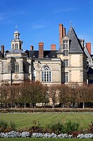France, Ile_de_France, Fontainebleau, palace