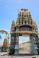 Reunion Island (Indian Ocean, France), St_Denis, Hindu Temple
