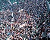 Spectators,Seoul Baseball Stadium,Seoul,Korea