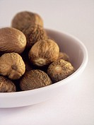 Spice, Spices, Ingredient, Ingredients, Food, Nutmeg, Bowl