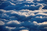 Aerial of clouds in Haleakala National Park, Maui, Hawaii (thumbnail)