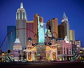 Hotel, New York New York, Las Vegas, Nevada, United States of America