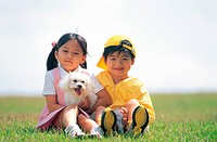 Kids And a Dog,Korean