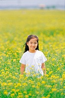 Korean Girl in Rape Field