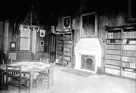Manchester, Owens College Professors Common Room 1895