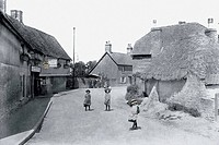 Harnham, the Village 1906