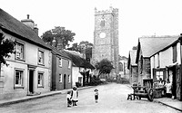 Moretonhampstead, Church Street 1906