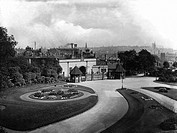 Nottingham, Castle Grounds 1920