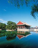 Gyeonghoeru Pavilion,Gyeongbokgung Palace,Jongno-gu,Seoul,Korea