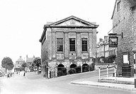 Chipping Norton, the Town Hall c1955
