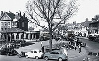 Horsham, the Carfax c1960