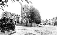 Dedham, High Street and Church 1907