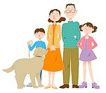 Family Image, Illustration