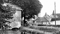 Wylye, view from the Bridge c1955