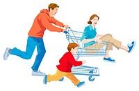 Shopping, Illustrative, Technique