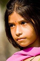 Young Indian girl portrait