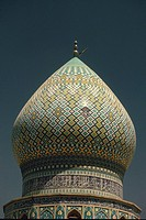 the roof of a mosque, Iran, Low Angle View