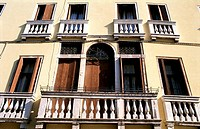 Windows doors and Balconies, Venice