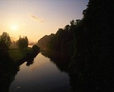 River Blackwater at sunrise, Lismore, Co Waterford, Ireland