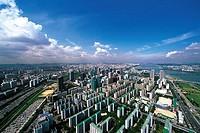 Yeouido,Seoul,Korea
